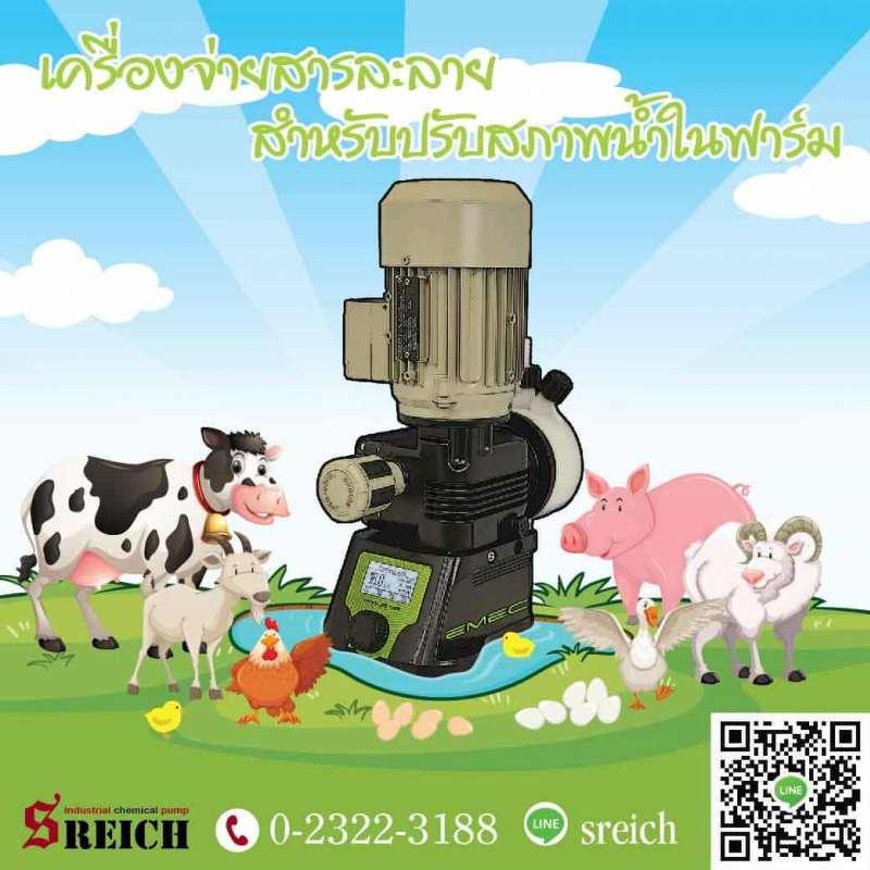 คุณภาพของสัตว์เลี้ยงในฟาร์มที่ดี เริ่มจากน้ำ หาซื้อปั๊มภาคตะวันออก